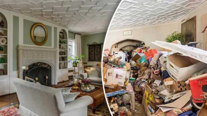 How nightmare hoarders' home was saved