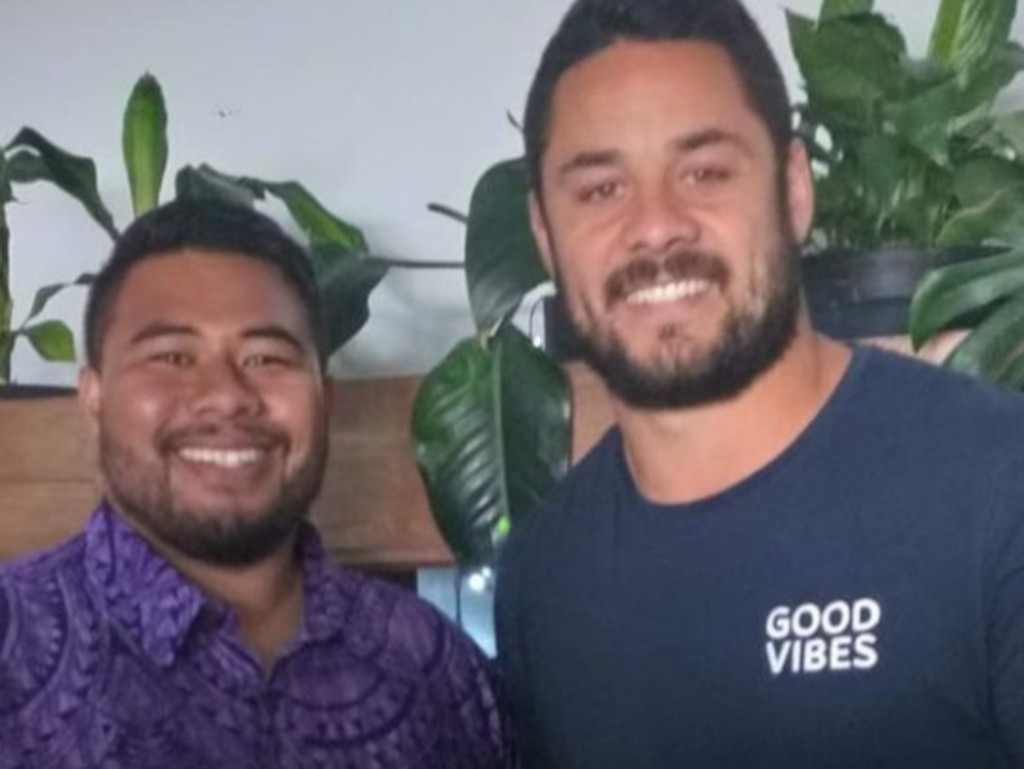 Jarryd Hayne during his time on campus at Youth With A Mission campus. Photo: jarrydhayne38