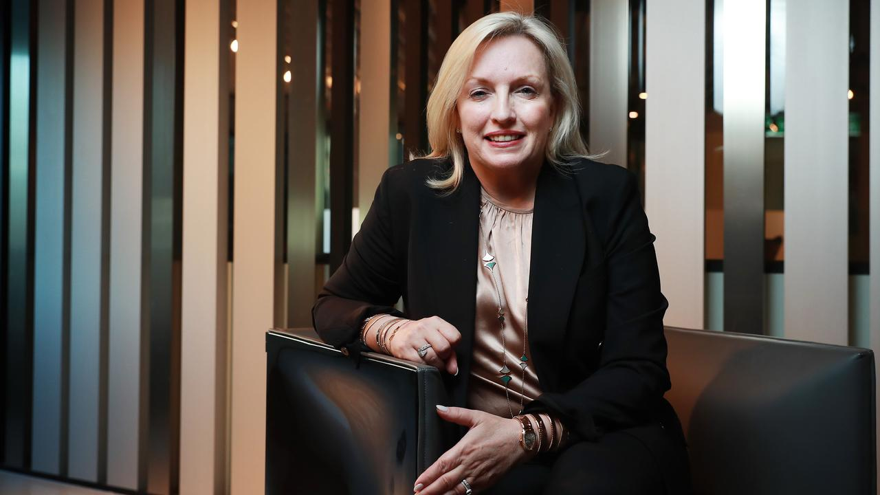 Christine Holgate has accepted a job as CEO at delivery company Toll Global Express. Picture: John Feder/The Australian.