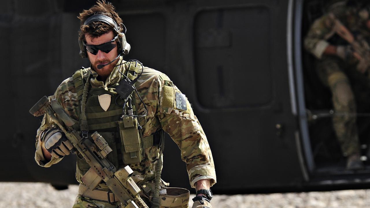 Ben Roberts-Smith serving in Afghanistan.