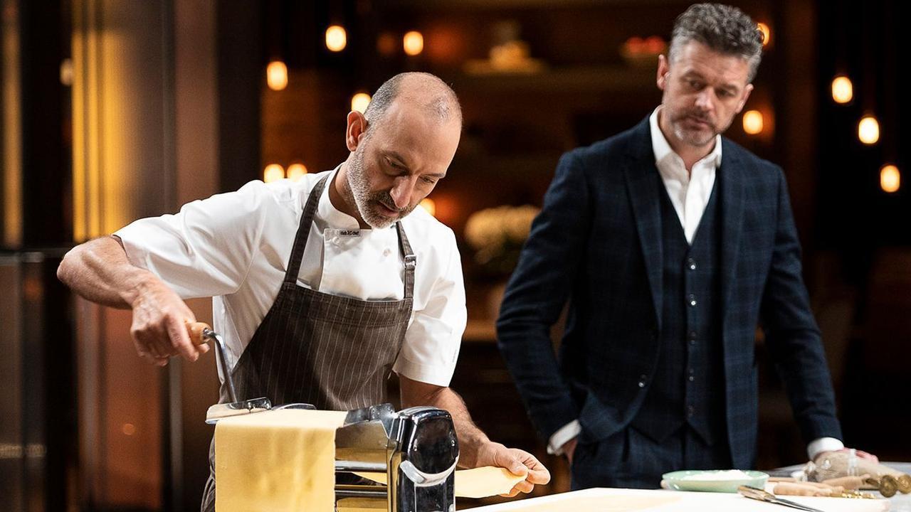 Tipo 00's chef Andreas Papadakis demonstrates pasta making