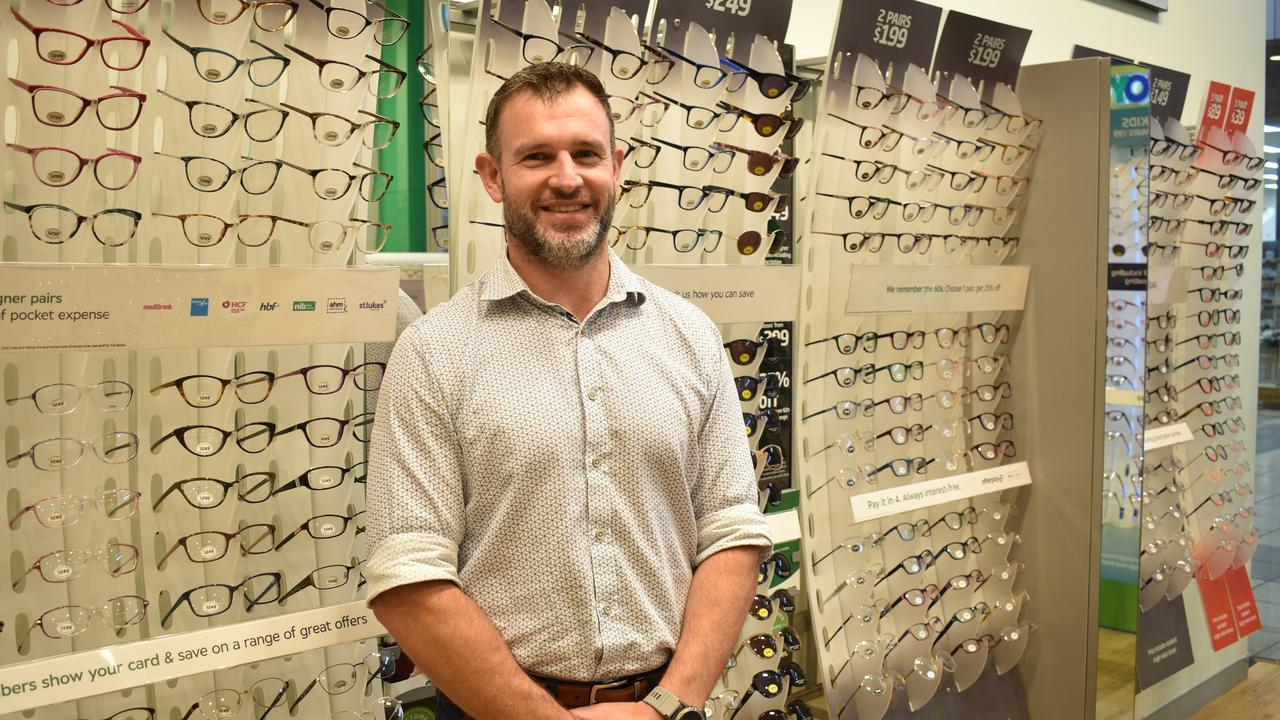 Ipswich optometrist Paul Jewitt says more women are cancelling or postponing their appointments due to time constraints.