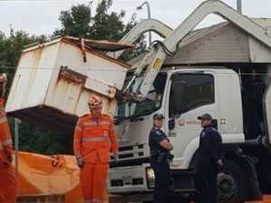 Boy killed in horror garbage truck incident