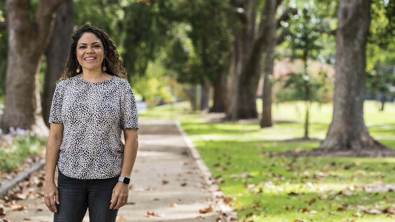 Prominent Indigenous researcher Jacinta Price in Toowoomba earlier this year. Picture: Kevin Farmer
