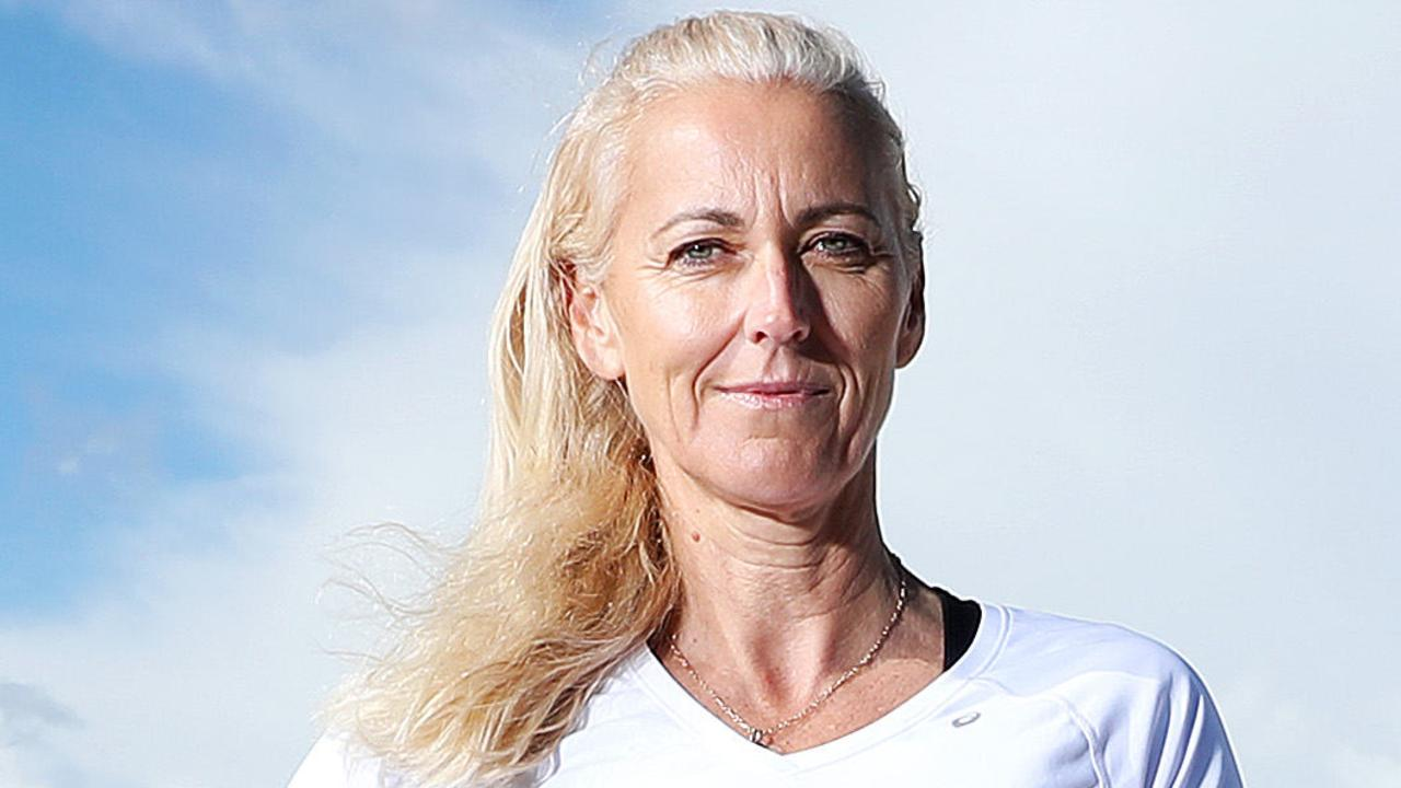The woman who won volleyball gold for Australia at Bondi during the Sydney Olympics has slammed locals who want to ban the sport on the beach.