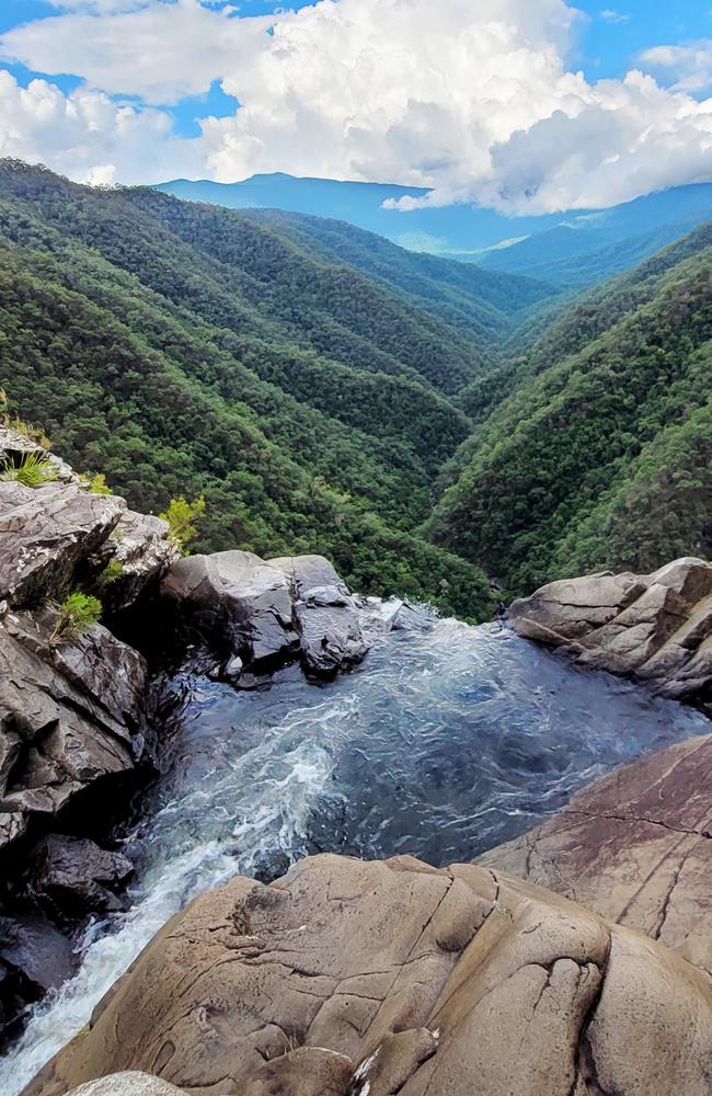 Windin Falls in the Wooroonooran National Park on the Atherton Tablelands. Picture: Brendan Radke
