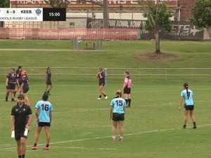 REPLAY: 2021 Titans schools League - Girls Div 1 Yr 9/10 Ipswich v Keebra Park