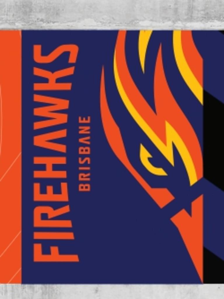 Brisbane Firehawks logo. Pictures: Supplied