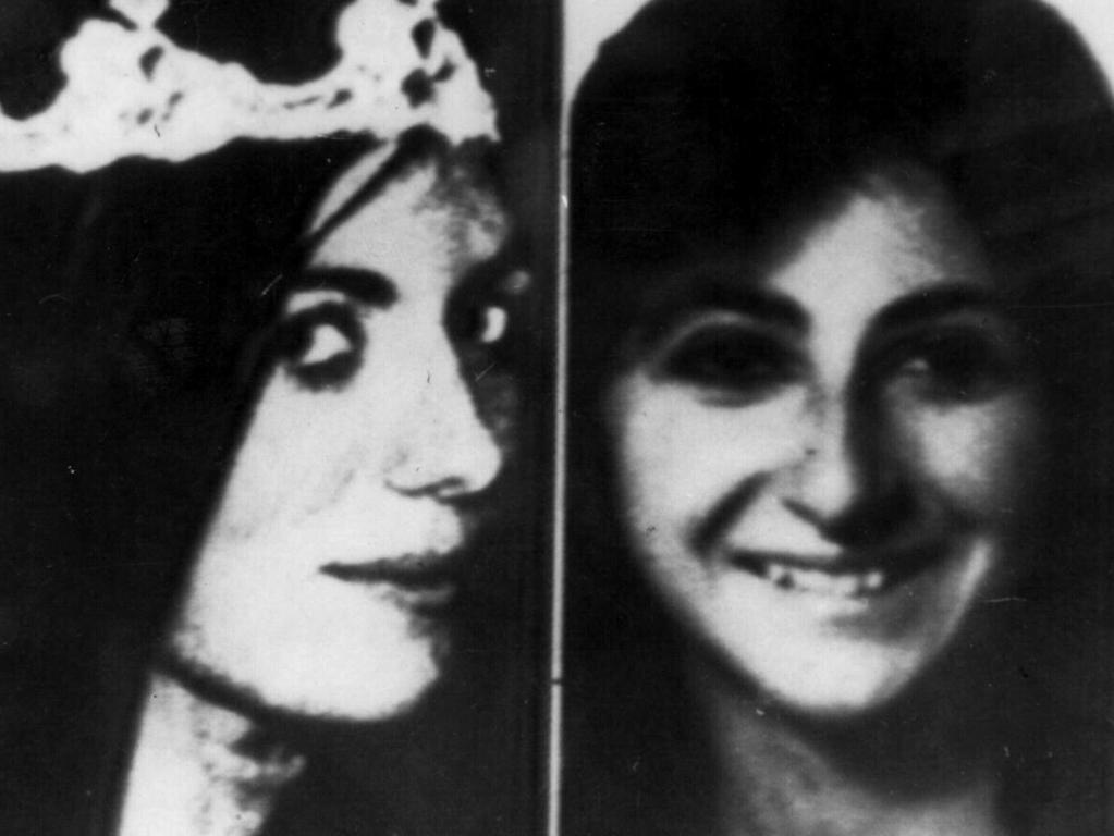 Victims Christine Freund, left, and Virginia Voskerichian.