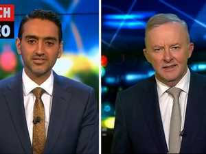 Waleed Aly's huge clash on The Project with Anthony Albanese (The Project)