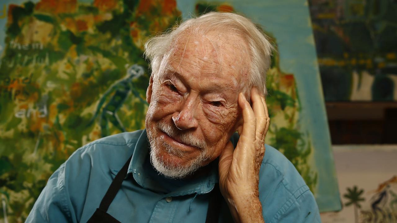 At 100, artist and digger Guy Warren embraces mortality but reveals there's lots of life – and art – in him yet.