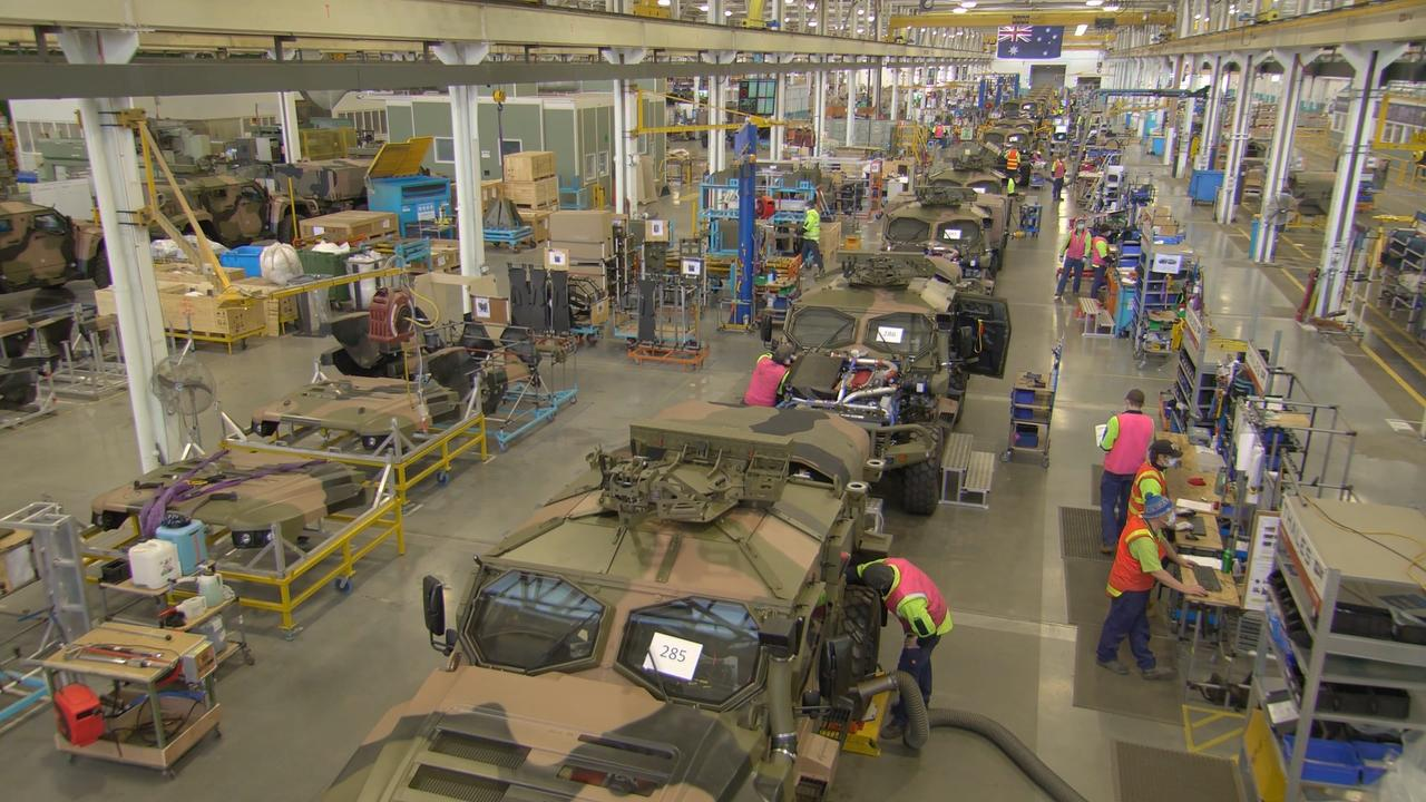 Army's new Australian-designed Hawkei protected vehicle is ready to enter full-rate production. Picture: Department of Defence