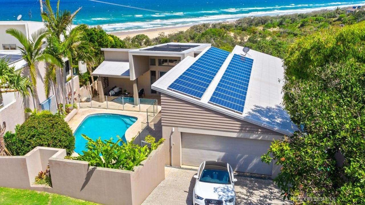 This property at 67 Orient Drive, Sunrise Beach, is typical of the suburb.