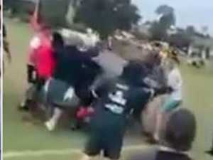 Two more charged over 'disgraceful' junior footy fight