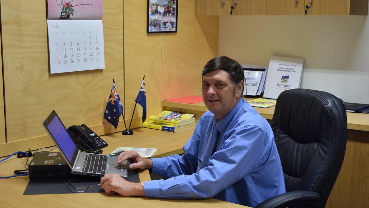 Banana Shire Mayor Nev Ferrier. Photo Andrew Thorpe / Central Telegraph