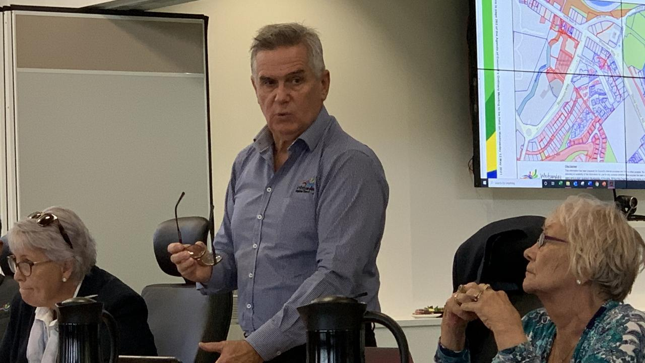 Whitsunday Cr Al Grundy said the council 'doesn't know where it's going' with regards to development at the Port of Airlie.