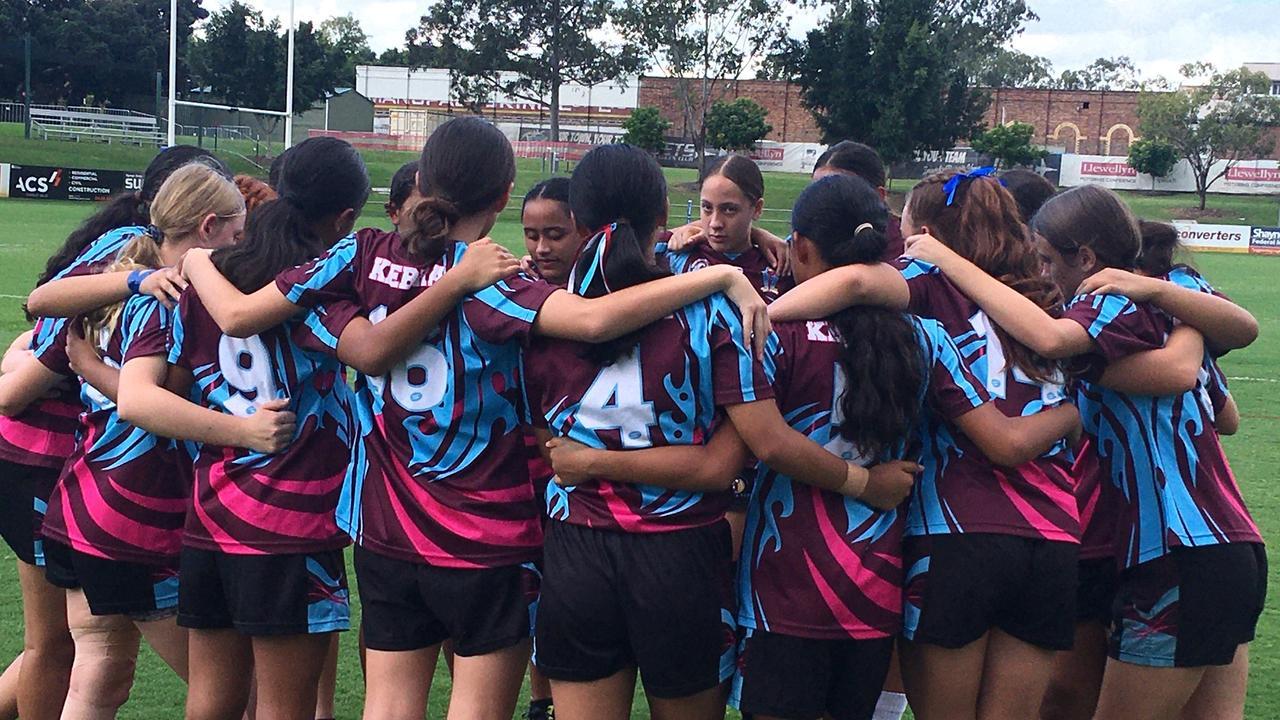 Keebra Park SHS Year 7-8 girls.