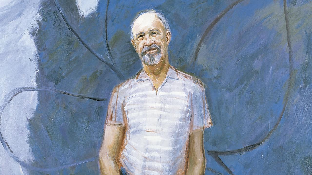 Warren's prize-winning painting Flugelman with Wingman. Copyright: Guy Warren