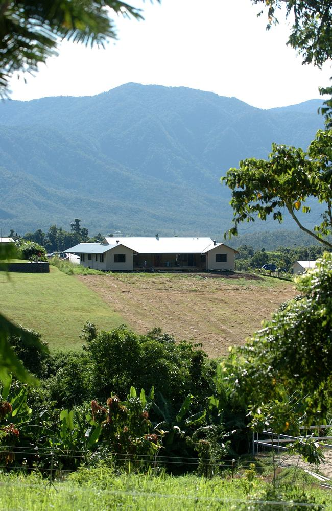 A sustainable and environmentally friendly home in Goldsborough Valley.
