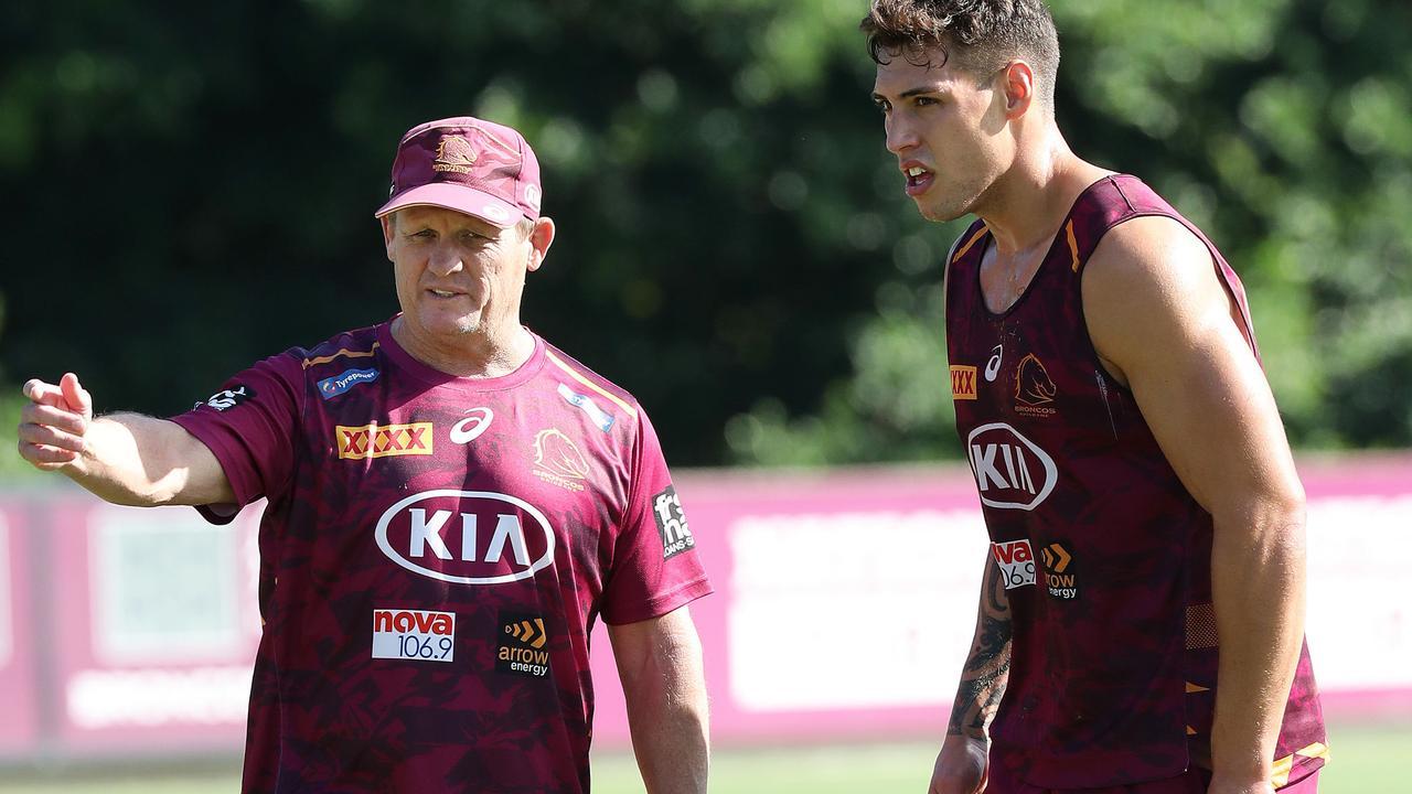 Brisbane coach Kevin Walters has got his man. Picture: Liam Kidston