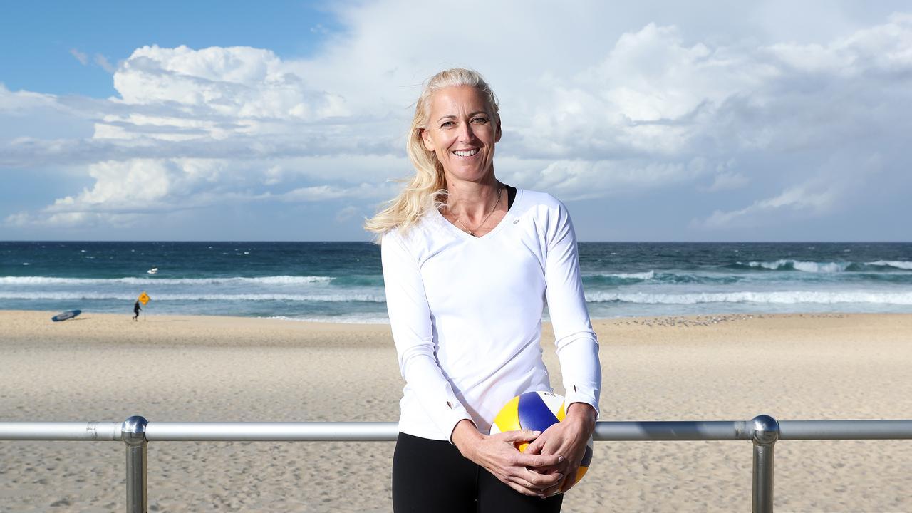 Australian Olympic Beach Volleyball legend Kerry Pottharst. Picture: Tim Hunter.