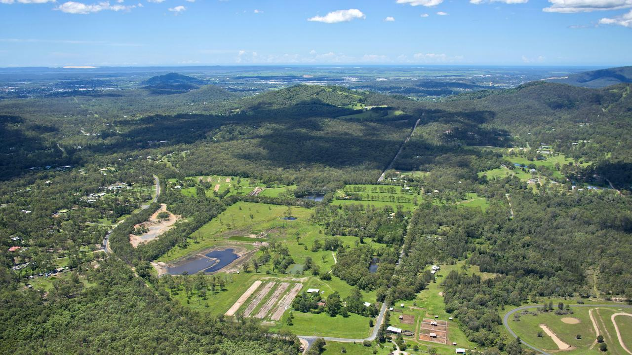 Aspect acreage estate at Buccan. Picture: Above Photography