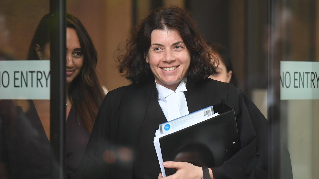 Defence barrister Sue Chrysanthou. Picture: AAP Image/Peter Rae