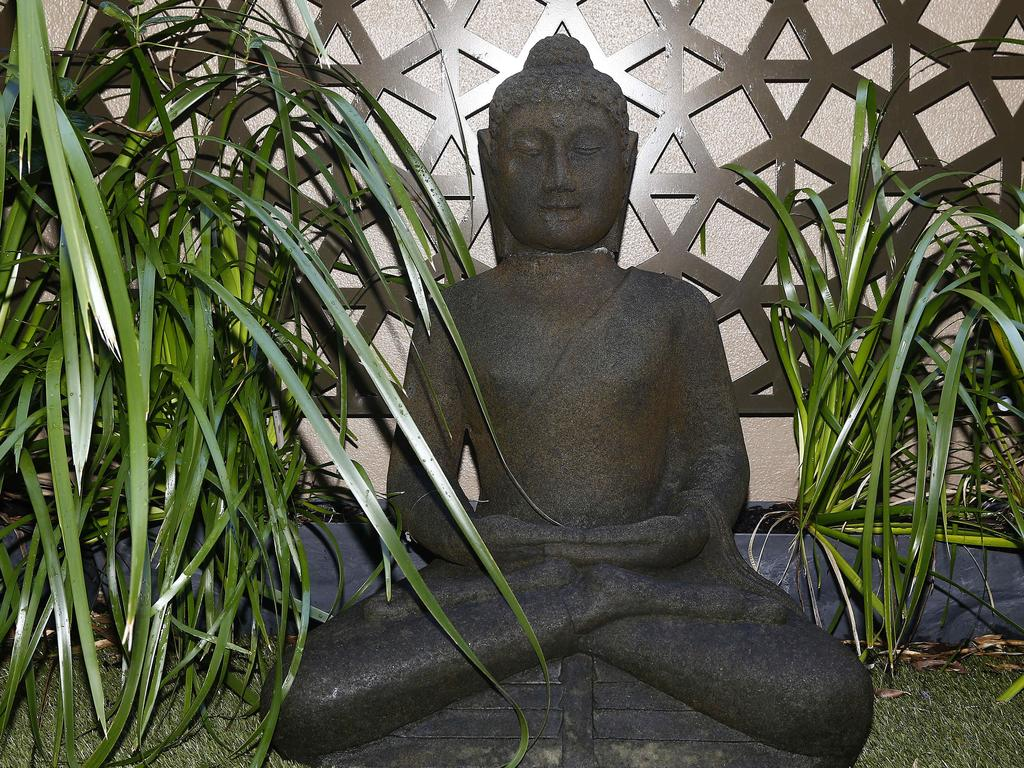 This Buddha Statue has been with Gary for over 20 years and many moves. Picture: John Appleyard