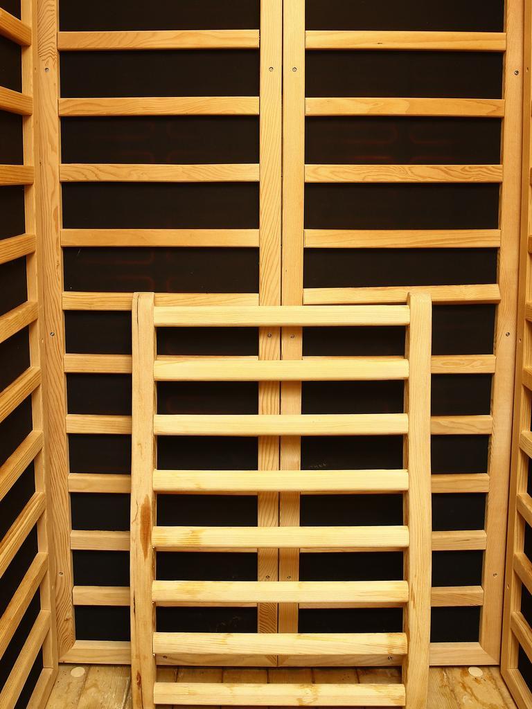 Gary Jubelin's personal sauna. Picture: John Appleyard