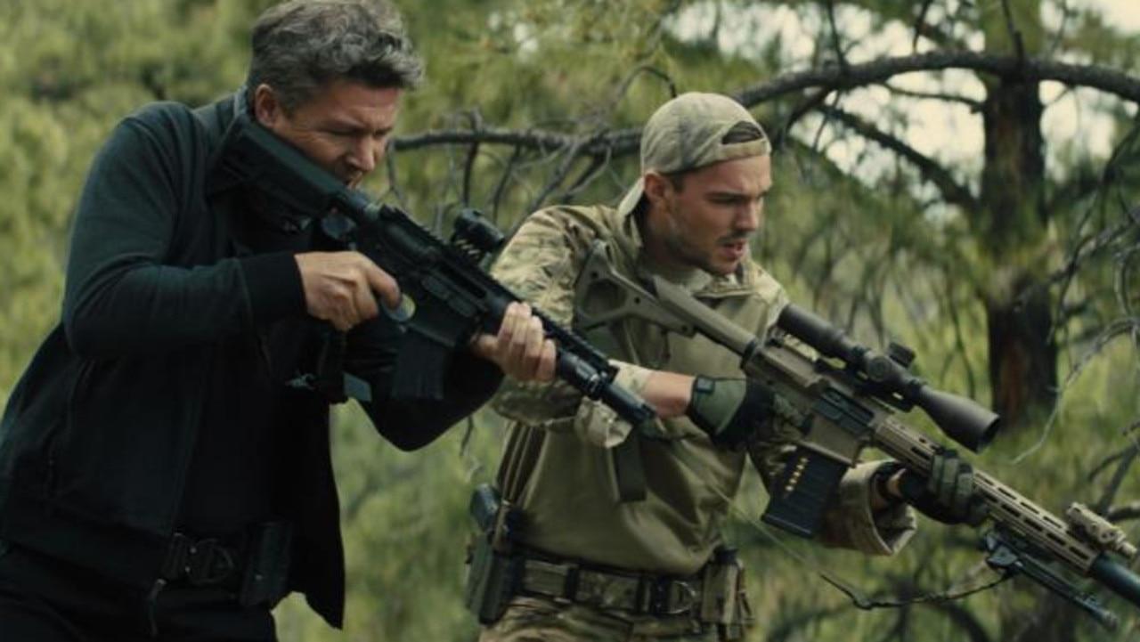 Aiden Gillen and Nicholas Hoult as ruthless assassins.