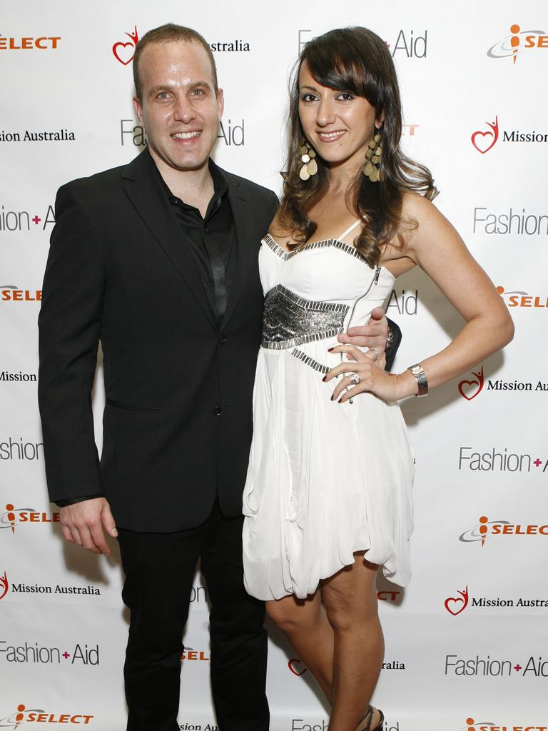 Dr Warren Sipser and Andi Lew at the iSelect Fashion Aid Gala Ball.