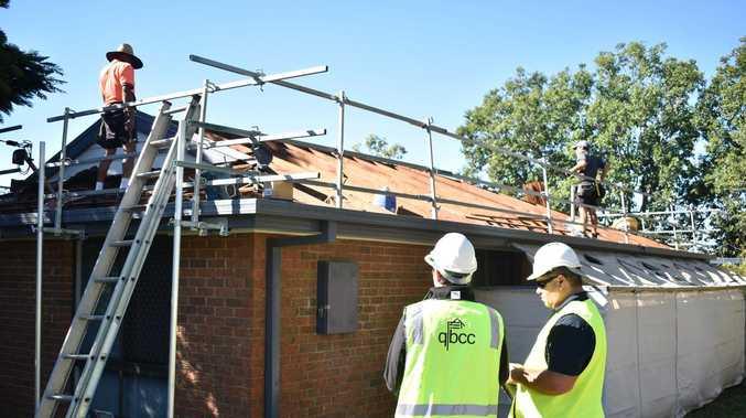Building watchdog cracks down on dodgy storm repairs