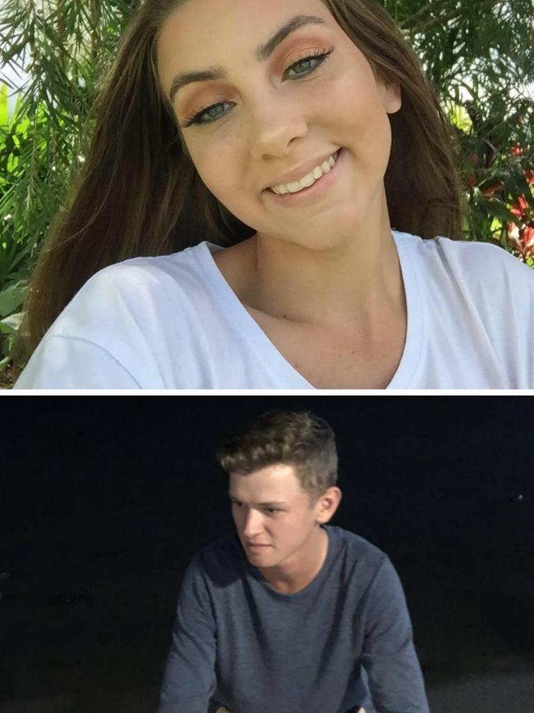 Lauren Quabba, 16, and Evan Fielder, 19, from Far North Queensland, were killed in a crash at Babinda in 2019.