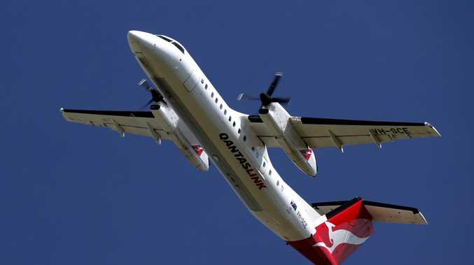 Qantas plane in emergency landing at Brisbane airport
