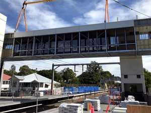 Footbridge improves access at popular train station
