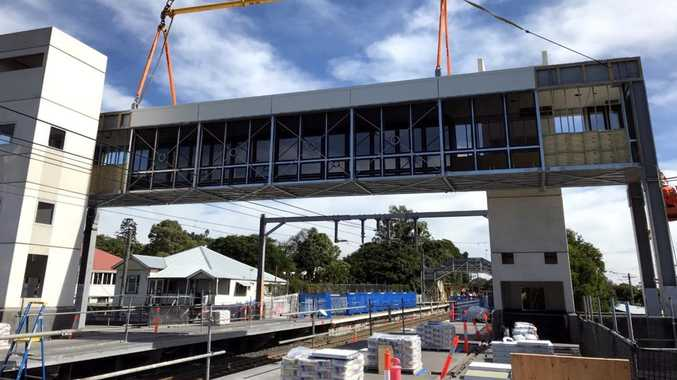 Footbridge improves access at popular train station