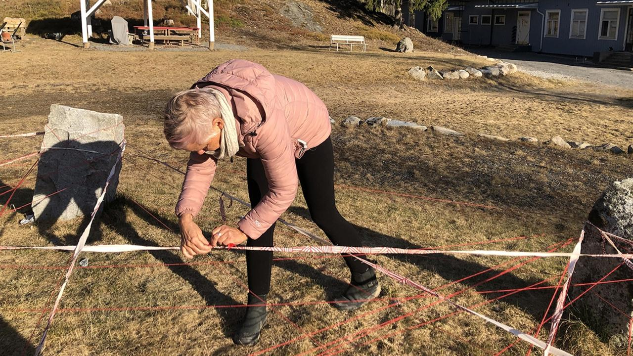 Yeppoon artist Julie Barratt attended the Arteles International Artist Residency in Finland last year to work with 13 other international artists, before being locked down for an additional two months as a result of COVID-19. Picture: Contributed