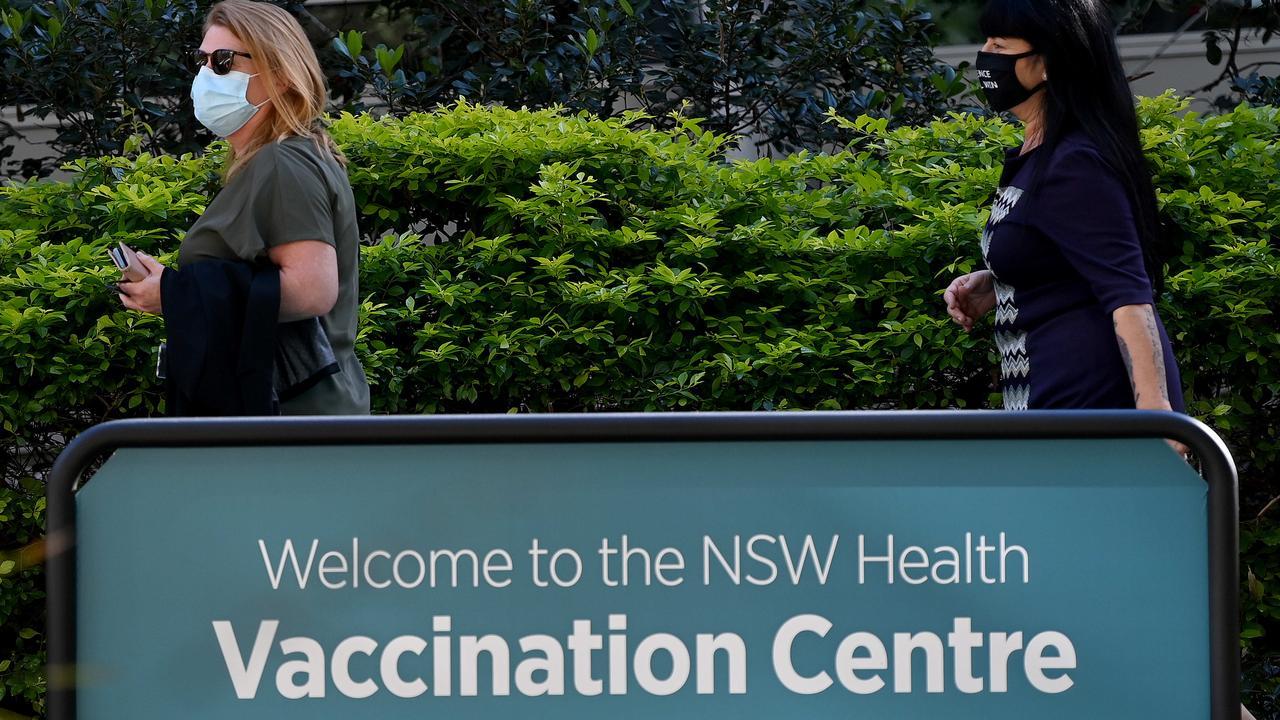 Vaccinations are, slowly, cranking up in Australia. Picture: NCA NewsWire/Bianca De Marchi