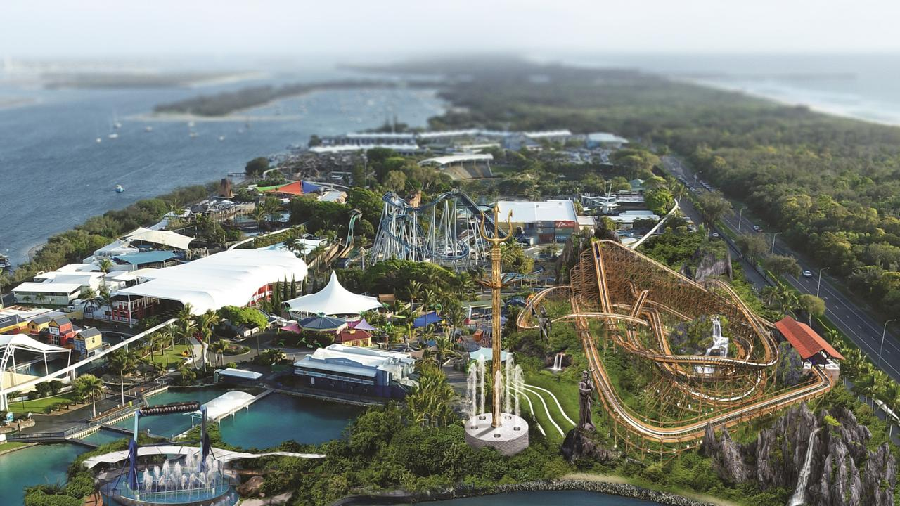 A $50 million theme park upgrade has stalled, with the launch of two thrilling new attractions delayed by at least six months.
