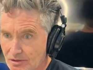 Hughesy cops backlash over on-air jab
