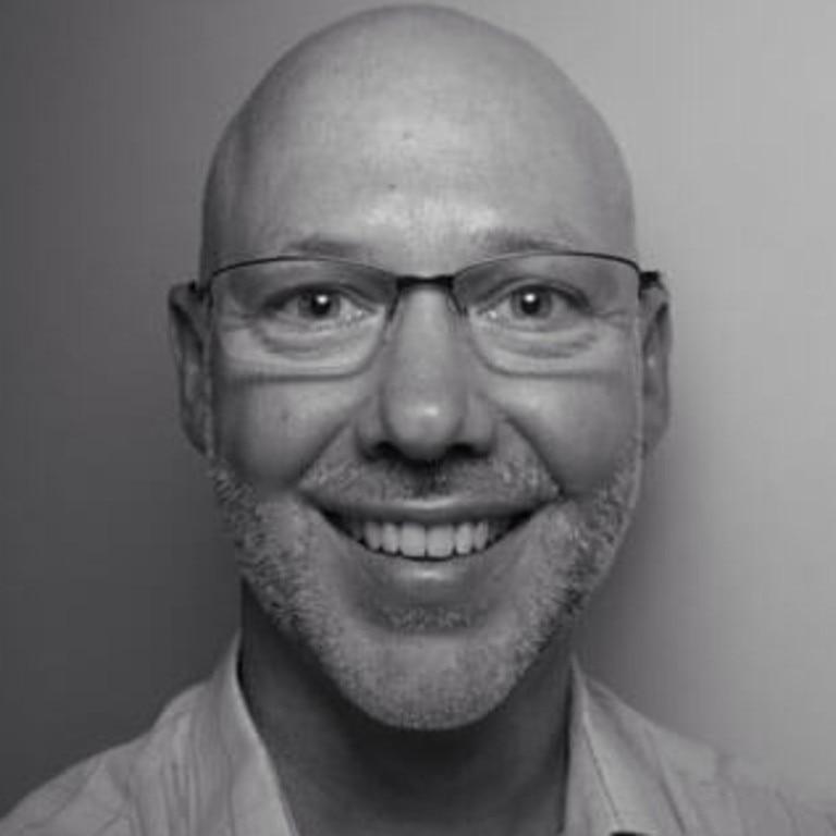 Chiropractor Sandy William Clark, from Grange, who practises as Sandy Clark Chiropractic.