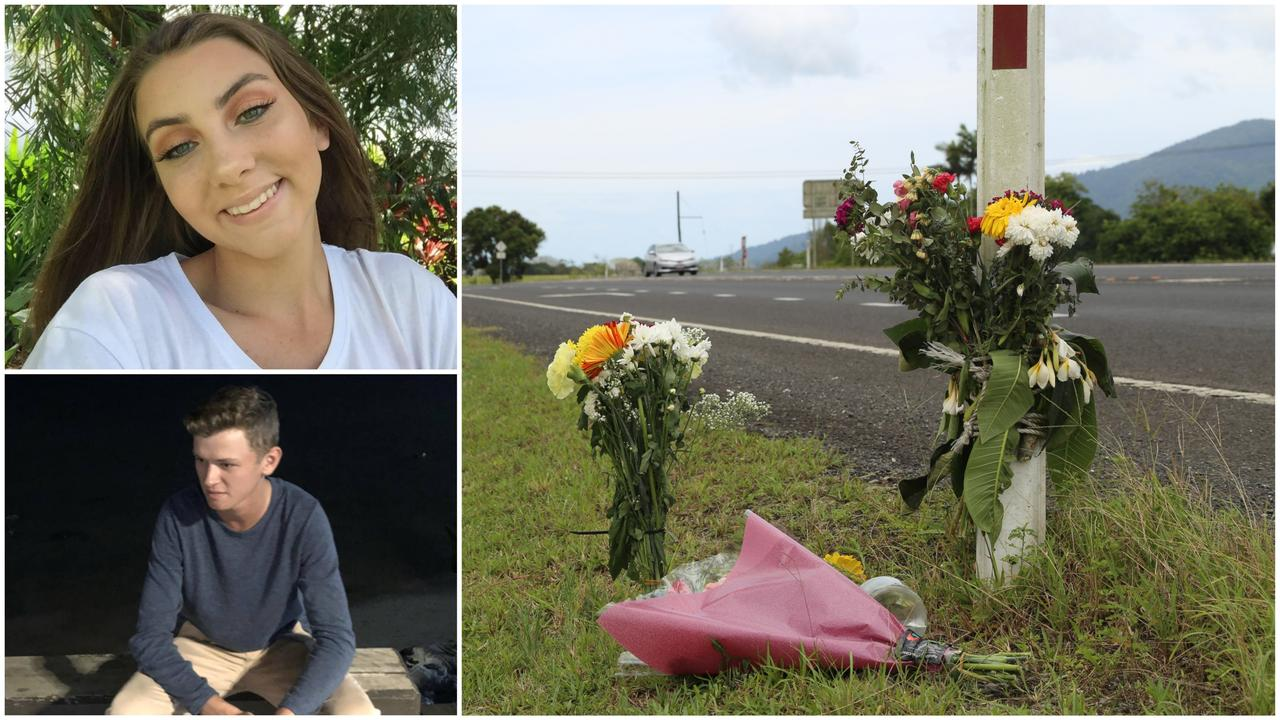 A teen who killed two young sweethearts in a crash had party drugs in his system and is believed to have fallen asleep at the wheel.