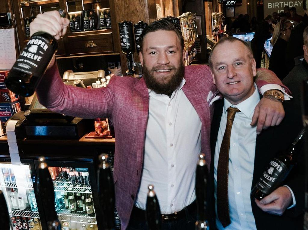 McGregor made nine figures from the sale of his whiskey company.