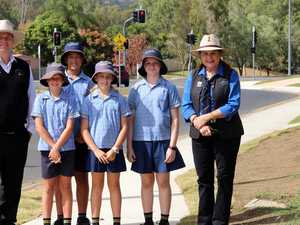 New footpath opens at school in North Rocky