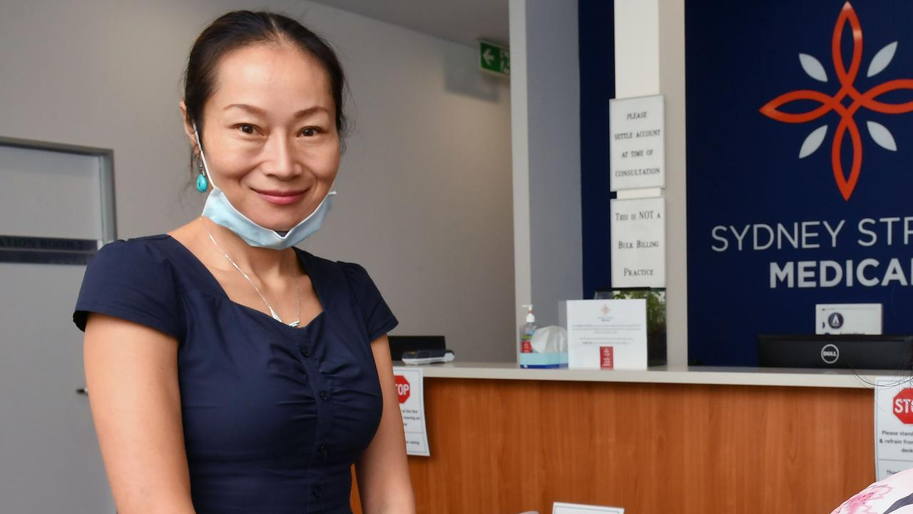 Dr Shuren Taylor from the Sydney Street Medical centre. Picture: Tony Martin