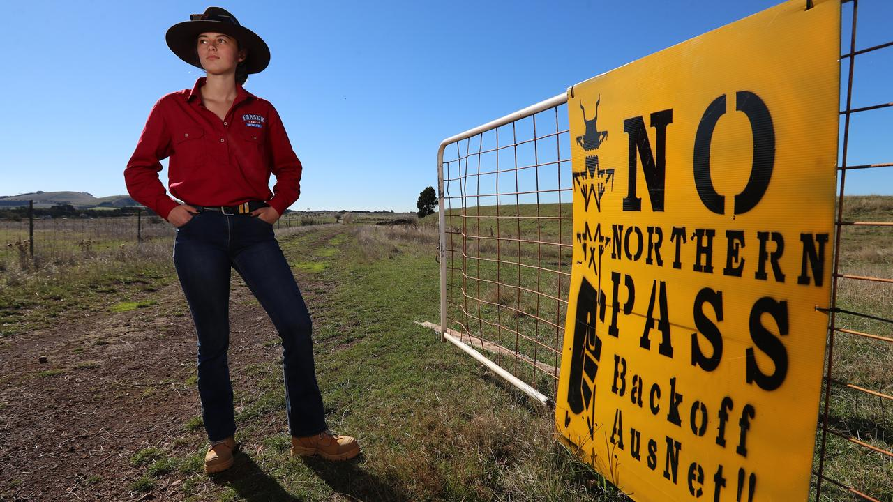 Joee Aganetti-Fraser is fighting for her farm and potato crop. Picture: Alex Coppel