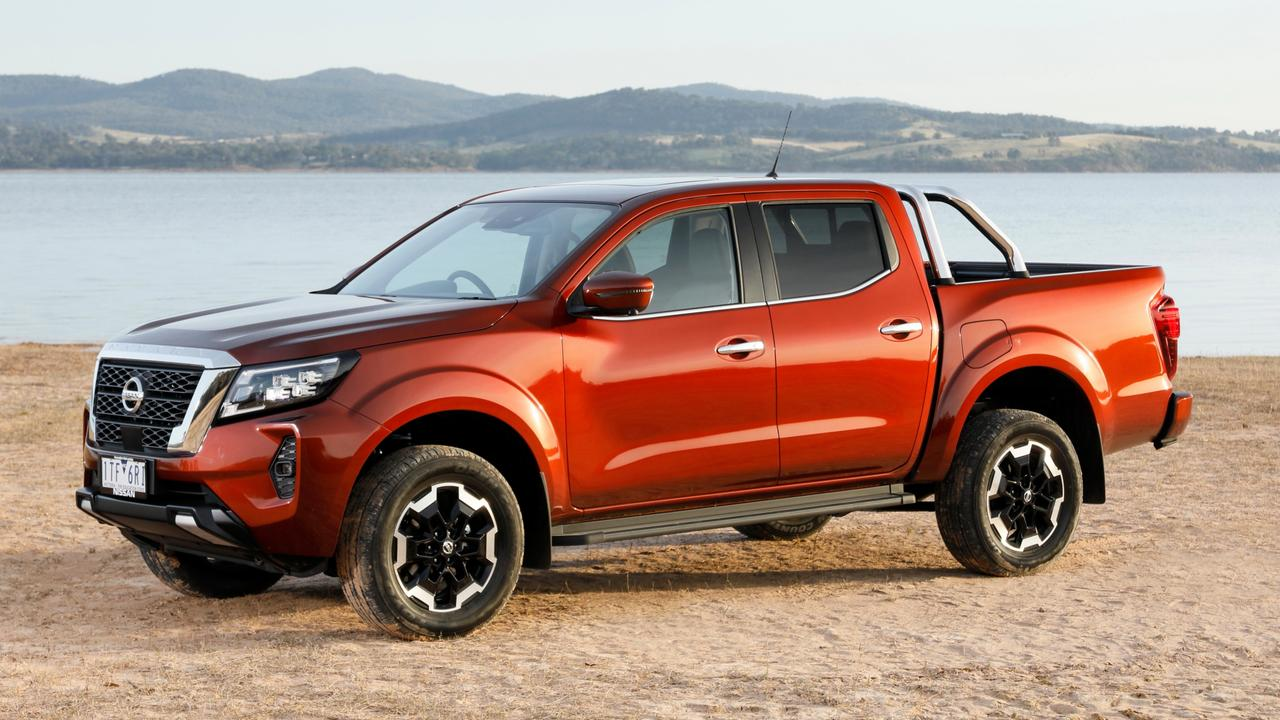 Nissan's Navara now comes with more rugged styling, with drive-away pricing for the ST-X starting from $57,290 for the manual with a cloth interior.