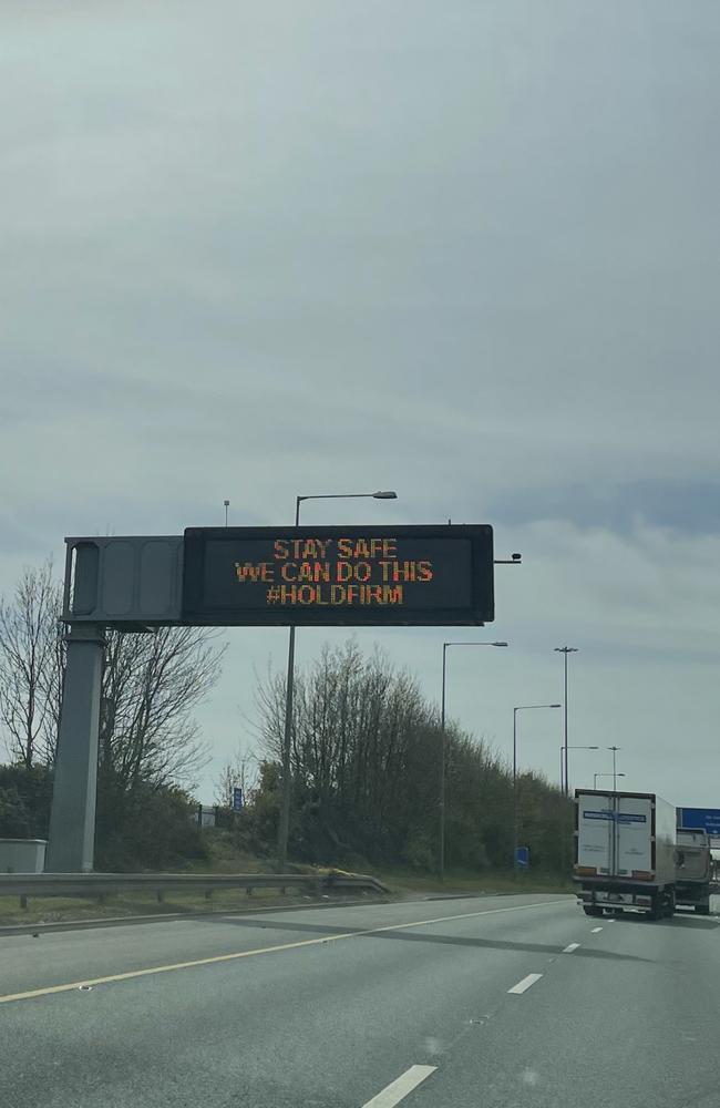Public health messaging in Ireland.