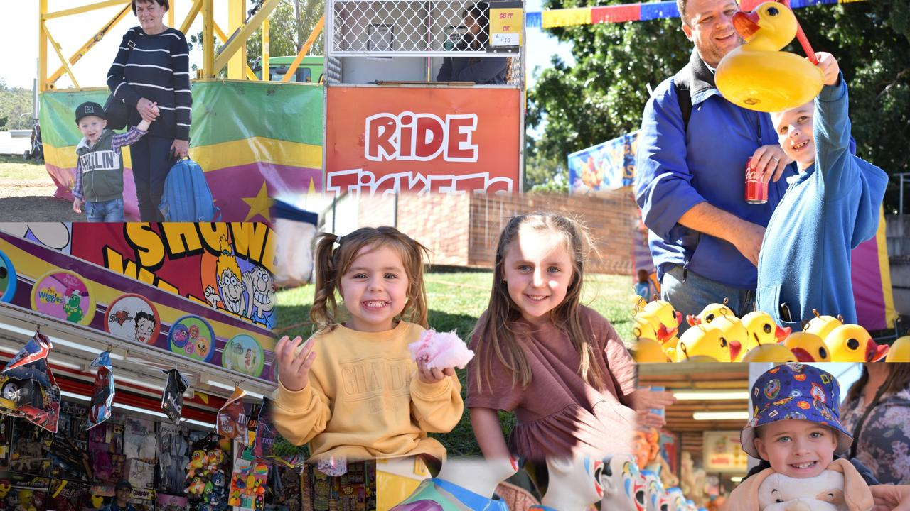 Out and about on day one at the long-awaited 2021 Ipswich Show. Photos: Ebony Graveur