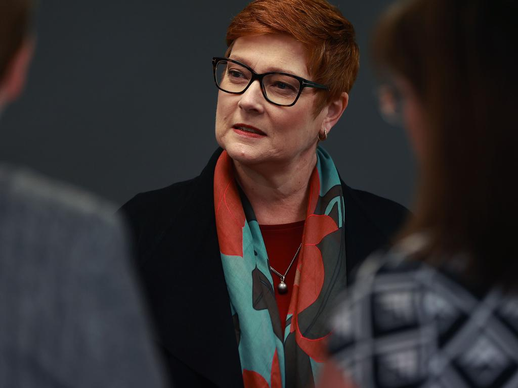 Marise Payne said the relationship between Australia and China was mutually beneficial. Picture: NCA NewsWire/Gary Ramage